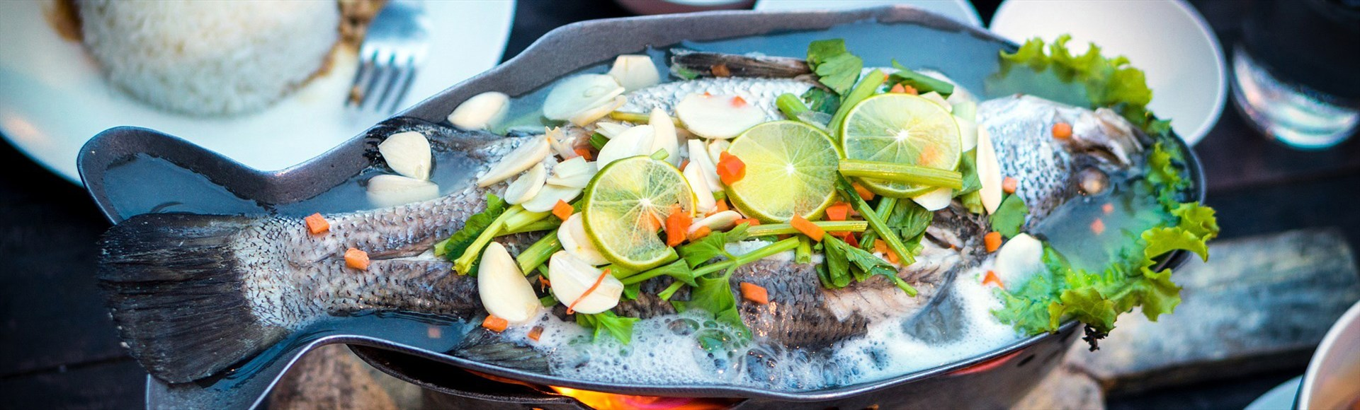 fish-with-lemon-and-vegetables - Alargo Private Chef Service in Crete | Christos & Michael