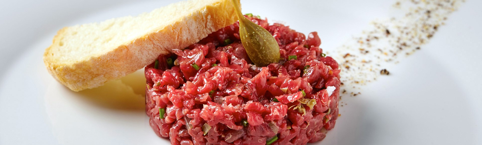 beef-tartar-with-sarawak-pepper-and-white-truffle-oil - Alargo Private Chef Services | Corfu Island - Greece
