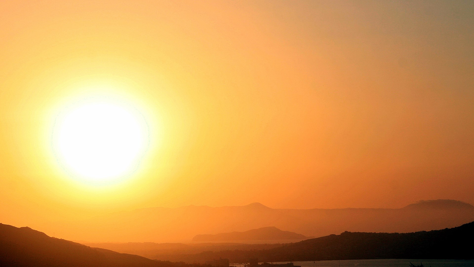 Sunset From Aptera Above Souda Bay, Chania, Crete | 30 Apr 2015 | Alargo