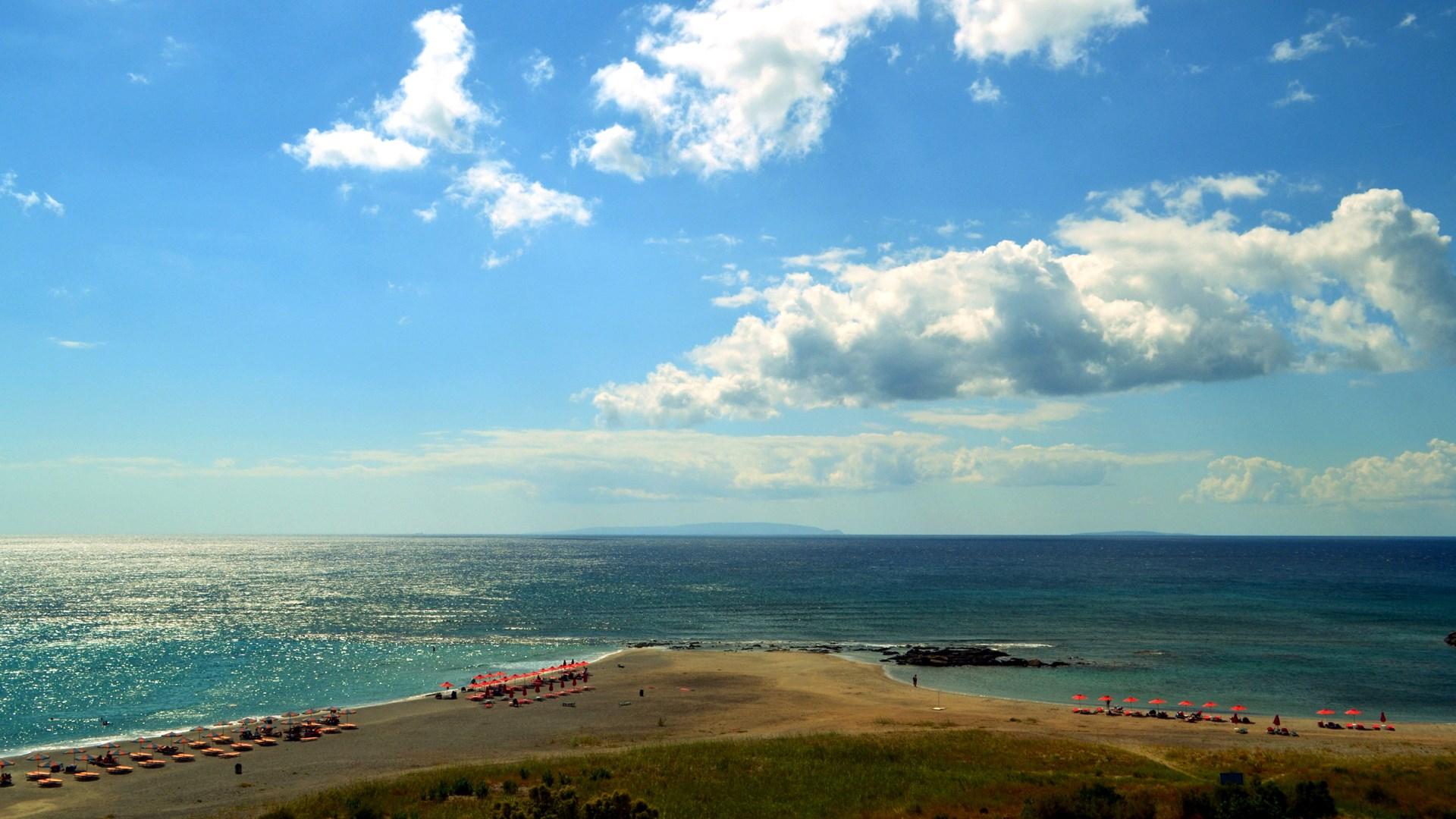 Frangokastello Beach in Sfakia, Chania - Crete   01 Oct 2017   Alargo