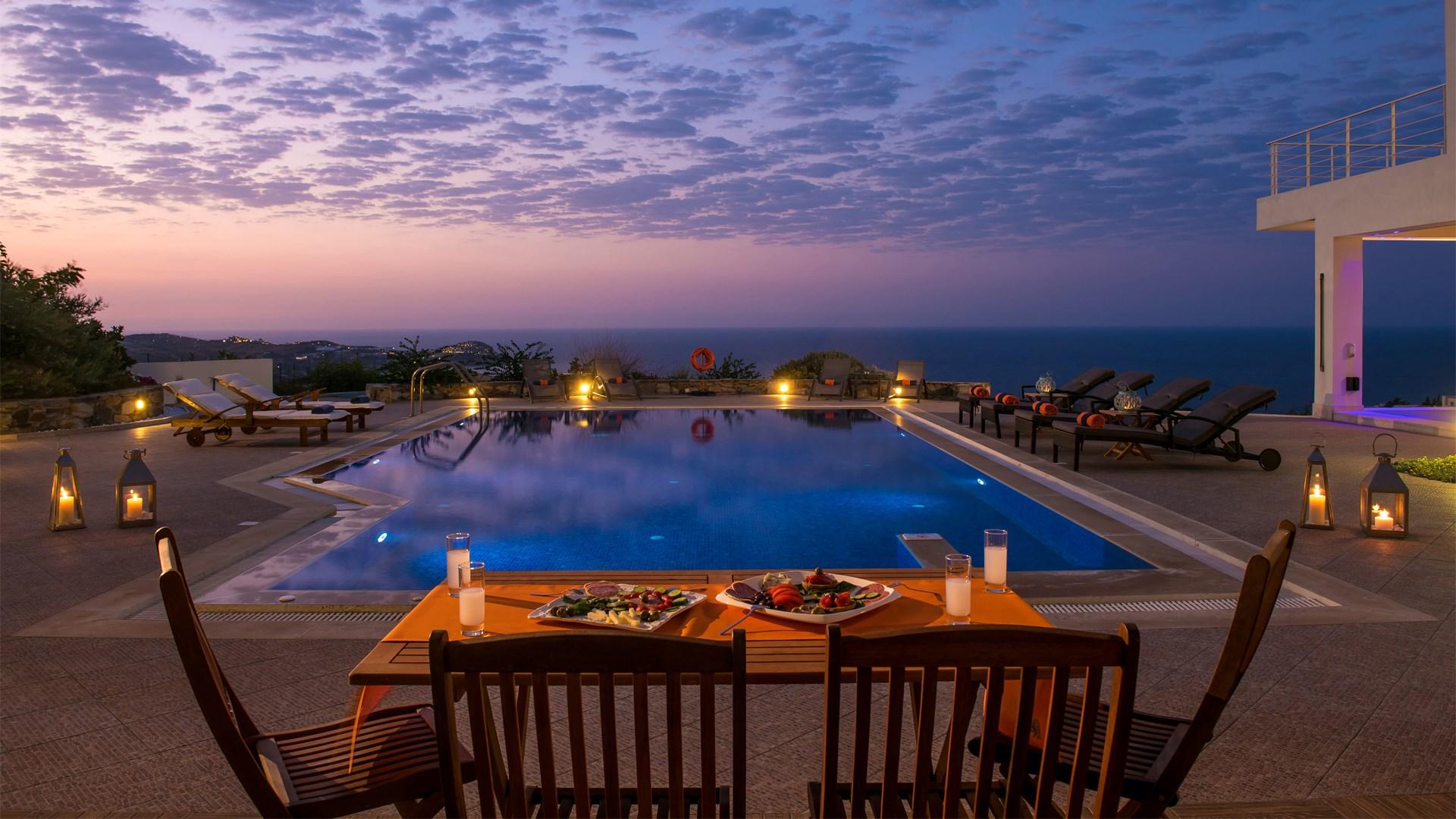 aspalathos villa agia pelagia heraklion crete. Black Bedroom Furniture Sets. Home Design Ideas