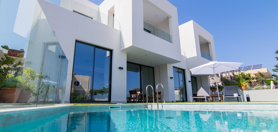 stadis-villa-kalamaki-chania-crete-1 - Villas with Pools in Crete, Corfu & Paros | Handpicked by Alargo