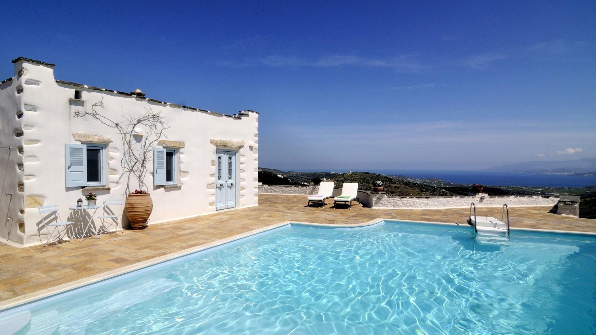 Lefkes Villa In Paros Authentic Greek Island Architecture