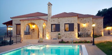 iris-villa-polemarchi-chania-crete-1 - Villas with Pools in Crete, Corfu & Paros | Handpicked by Alargo